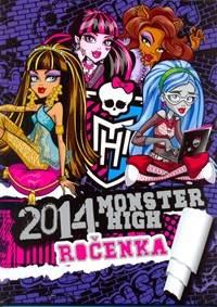 e4b67db0a8b2 Kniha Monster High  Ročenka 2014... 9 ...