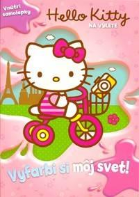 e4c0ff4bce35 Kniha Hello Kitty Na výlete Vyfarbi si môj svet!