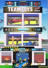Kniha Teamboys-Motor Garages...