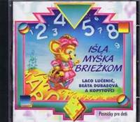 Kniha CD-Išla myška briežkom...