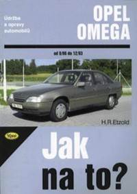 Kniha Opel Omega od 9/86 do 12/93...