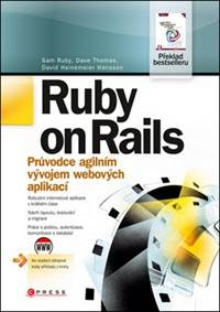 Kniha Ruby on Rails...