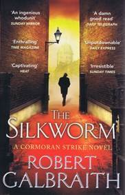 Kniha The Silkworm...