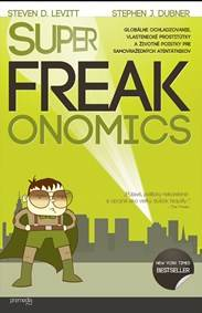 Kniha SuperFreakonomics...