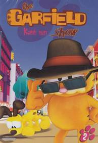 Kniha Garfield show - Kočičí past - DVD...