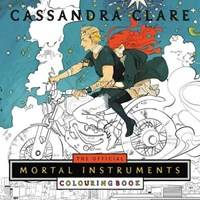 Kniha The Official Mortal Instruments Colouring Book