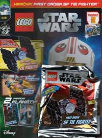 Kniha Lego Star wars časopis + hračka (First order SF TIE Fighter)  11/19
